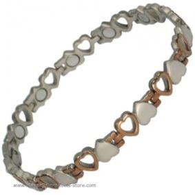 VENUS' HEARTS Titanium Magnetic Bracelet