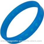 Sky blue silicone
